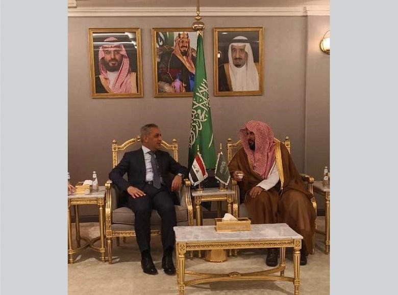 The President of the Supreme Judicial Council Reaches Saudi