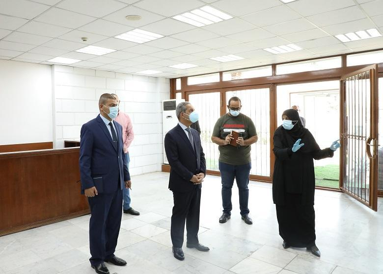 President of Supreme Judicial Council visits Judicial Institute