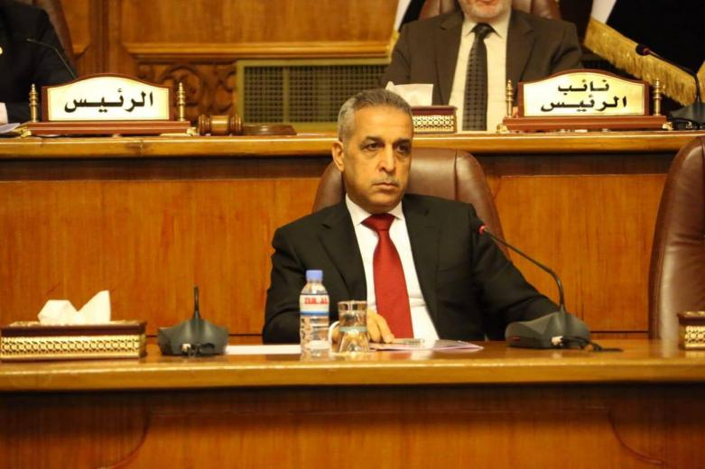 Judge Faiq Zidan at the Head of a Judicial Delegation Attends the Session of the Council of Representatives to Combat Corruption