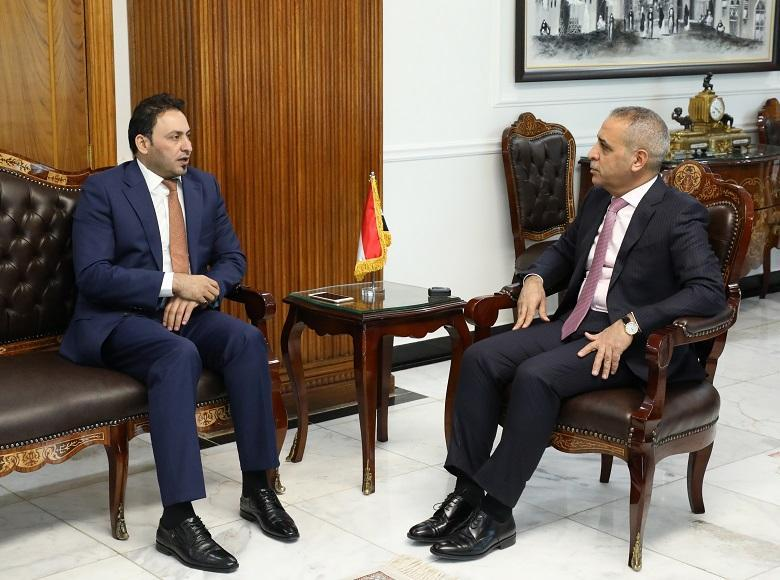 President of the Supreme Judicial Council Welcomes First Deputy of Speaker of Council of Representatives