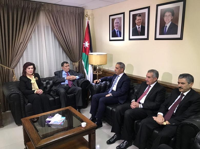 President of the Supreme Judicial Council Judge Faiq Zidan Visits the Constitutional Court in Hashemite Kingdom of Jordan