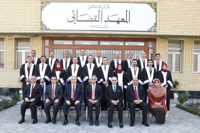 Supreme Judicial Council Celebrates the Graduated Students of ‎Course (40) from Judicial Institute ‎