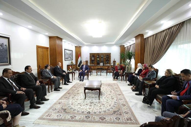 President of Supreme Judicial Council Receives Minister of Justice  ‎