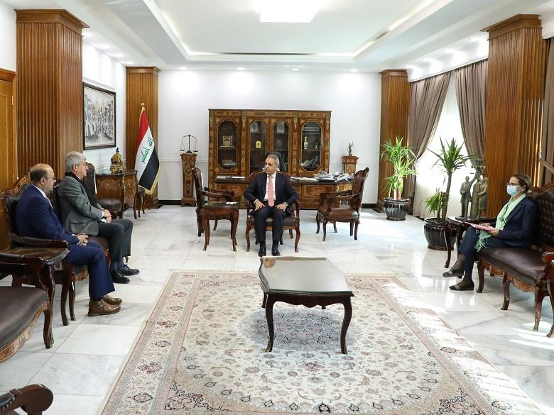 President of Supreme Judicial Council receives French Ambassador to Iraq