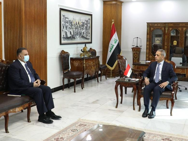 President of Supreme Judicial Council receives Head of Investigating Committee