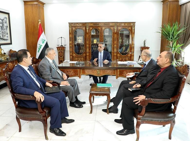 President of Supreme Judicial Council Holds Deliberative Meeting with Members of the Council on Recent Demonstrations 