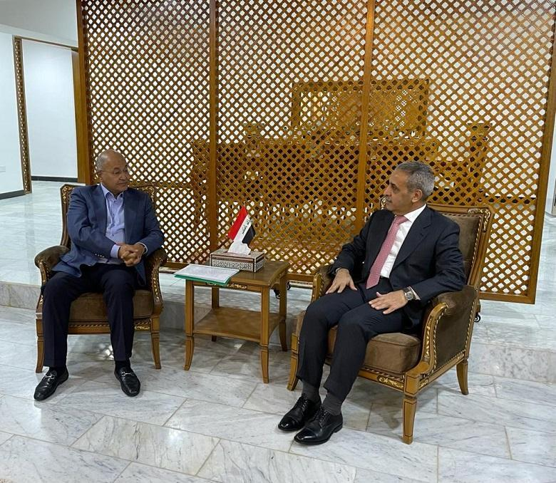 President of Supreme Judicial Council receives President of the Republic