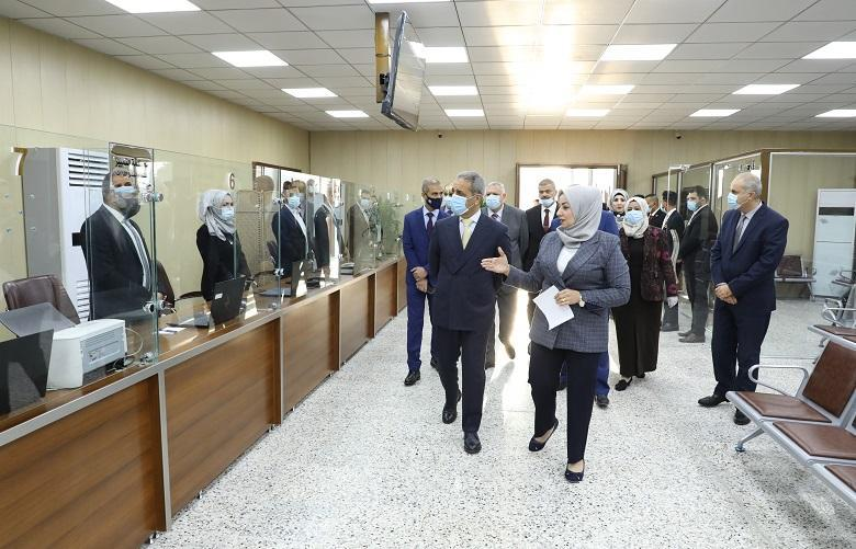 President of Supreme Judicial Council opens electronic inquiries at the council headquarters