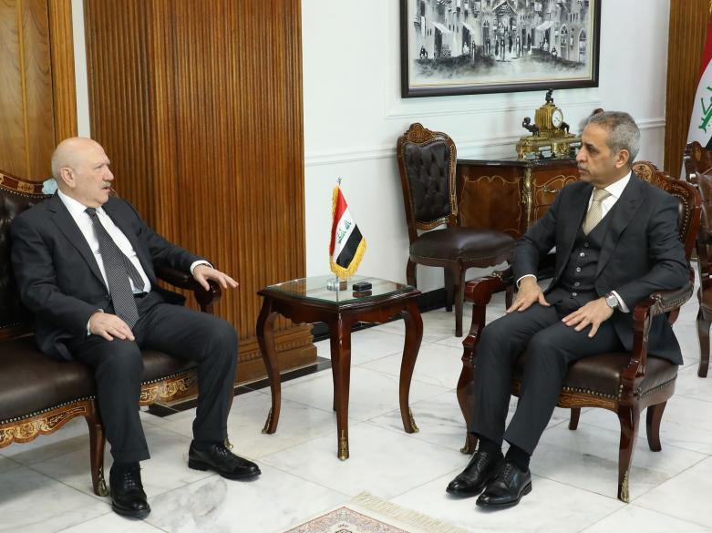 President of Supreme Judicial Council Receives Minster of Health