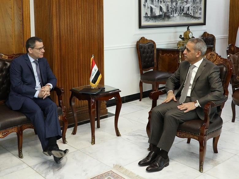 President of Supreme Judicial Council Receives Head of EU Mission to Iraq