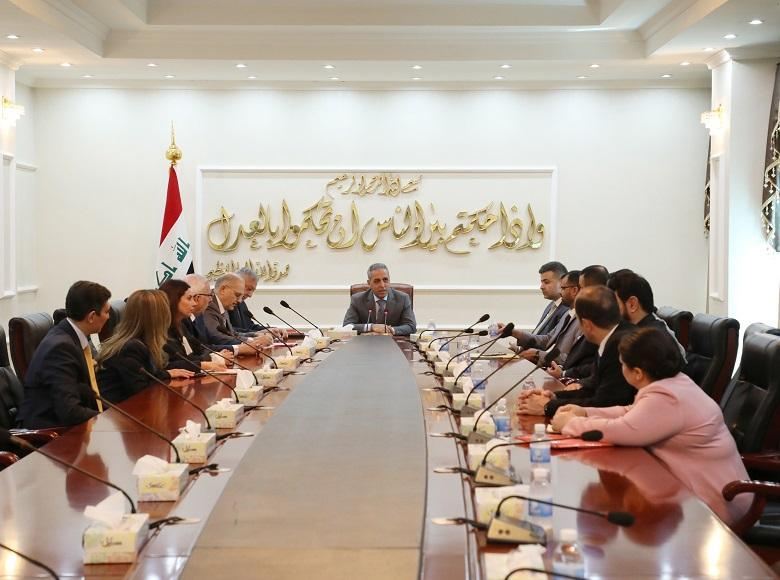 President of Supreme Judicial Council Receives Legal Committee of ‎the Council of Representatives ‎