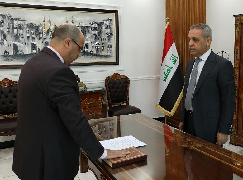Chiefs of Dhi Qar and Diyala Appeal Sworn in by President of Supreme Judicial Council