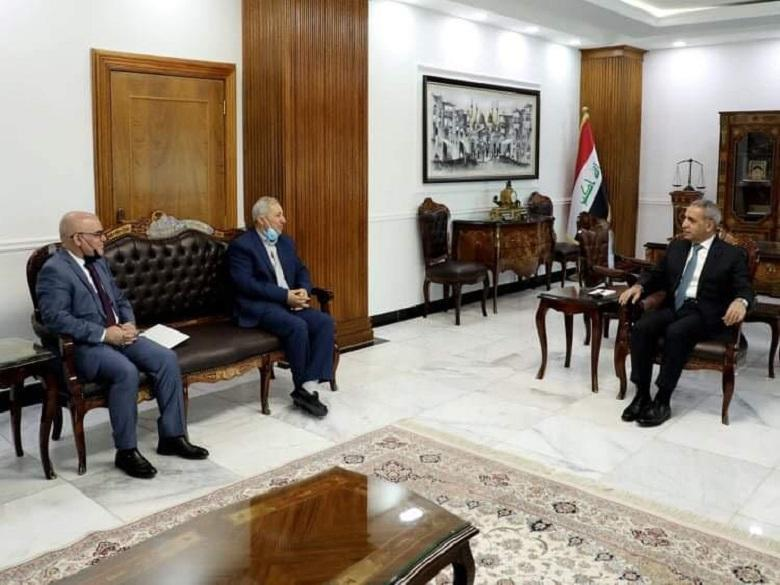 President of Supreme Judicial Council receives President of Martyrs Foundation