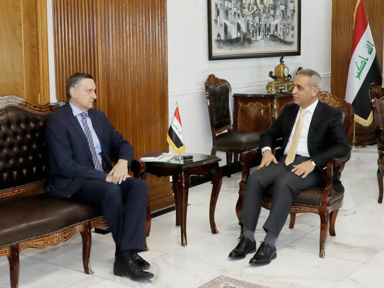 President of the Supreme Judicial Council Welcomes German Ambassador