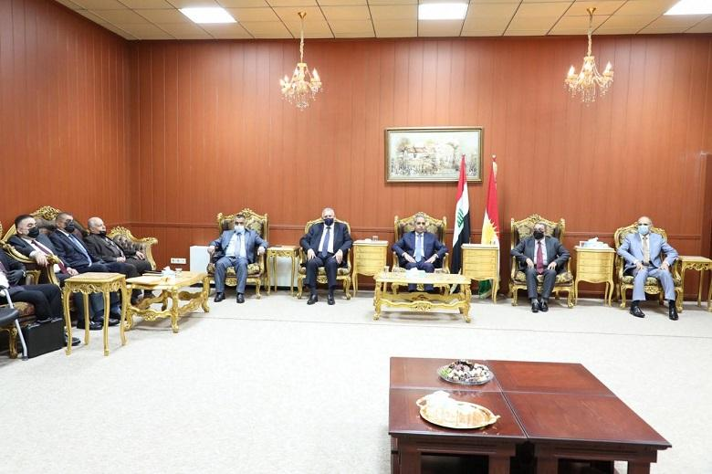 President of Supreme Judicial Council visits Presidency of Sulaymaniyah Appeal Court
