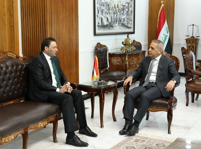 Judge Faiq Zidan Welcomes First Deputy of Speaker of Council of Representatives