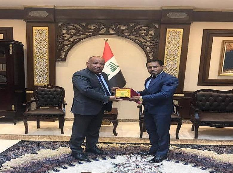 Basra Appeal : Honored Employee Won Sport Prize