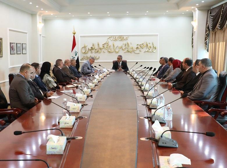 Meeting of the President of the Supreme Judicial Council with the President and members of the Public Prosecution on 9-10-2019