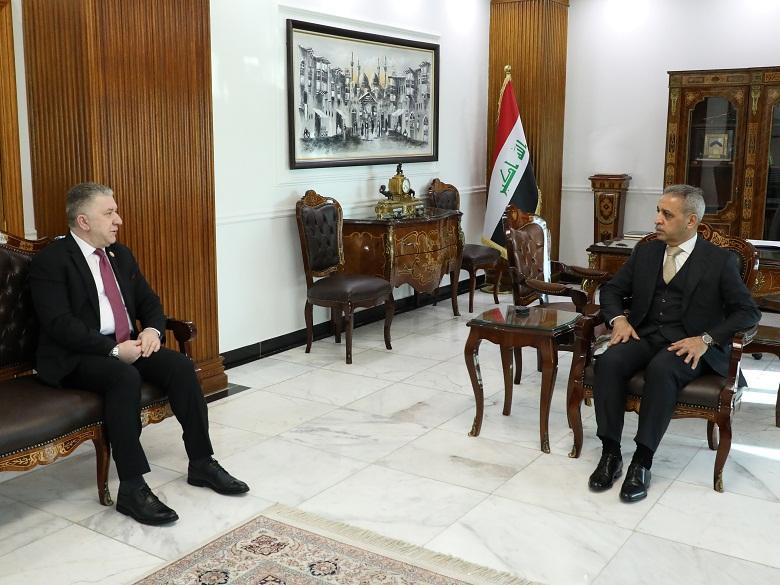 The President of the Supreme Judicial Council receives the President of the Office of the Presidency of the Republic
