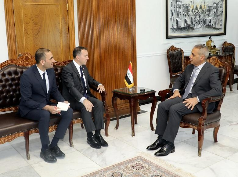President of the Supreme Judicial Council Welcomes Turkish Ambassador