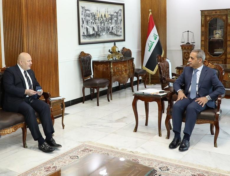 President of Supreme Judicial Council receives Assistant Secretary-General of the United Nations