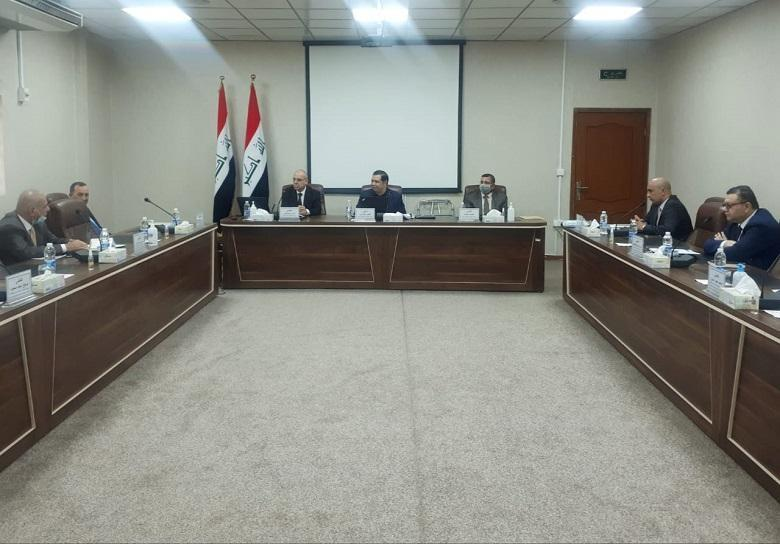 Judicial Development Institute organizes a coordination workshop between the central compensation committees and subcommittees in the liberated governorates