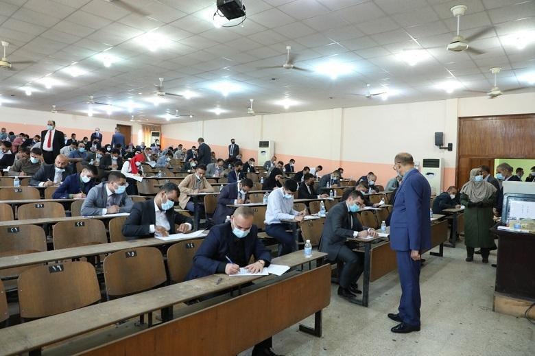 More than eight hundred applicants take  test for admission to Judicial Institute