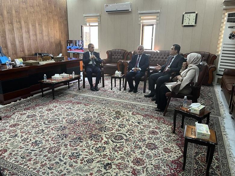 President of the Supreme Judicial Council inspects the Judicial Committees in Karkh