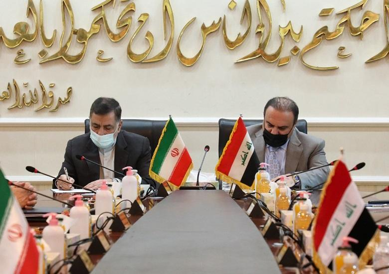 Minister of Justice signs memorandum of understanding with his Iranian counterpart