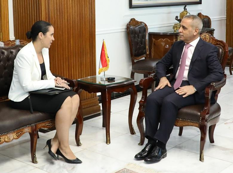 President of the Supreme Judicial Council Welcomes New Zealand Ambassador