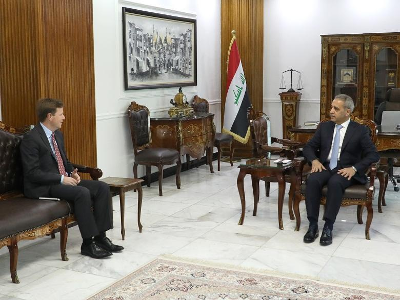 ‎President of Supreme Judicial Council receives British Ambassador to Iraq