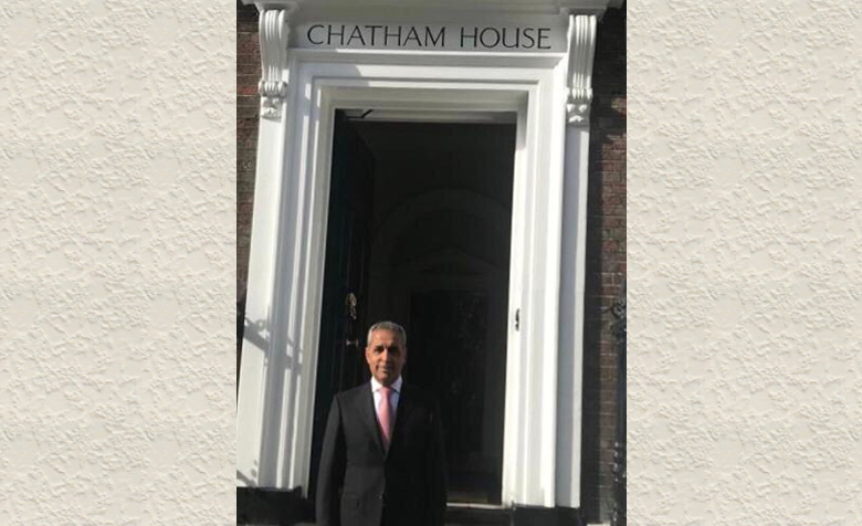 Chief Justice of Iraq Faiq Zidan, reviews the most important roles of the Iraqi judiciary in the Chatham House