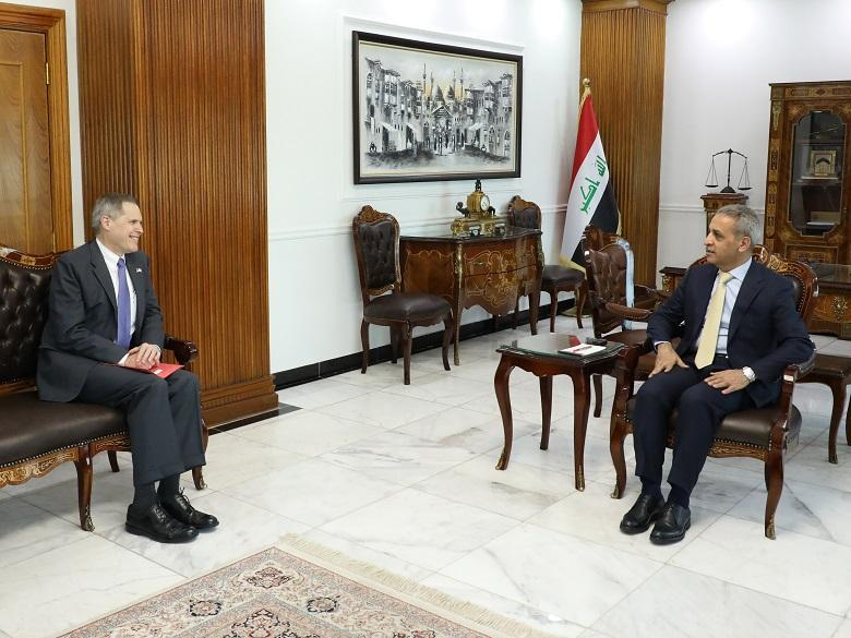 President of Supreme Judicial Council receives US Ambassador