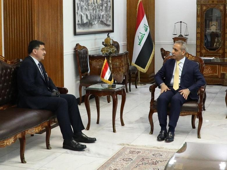 President of the Supreme Judicial Council receives Minister of Water Resources