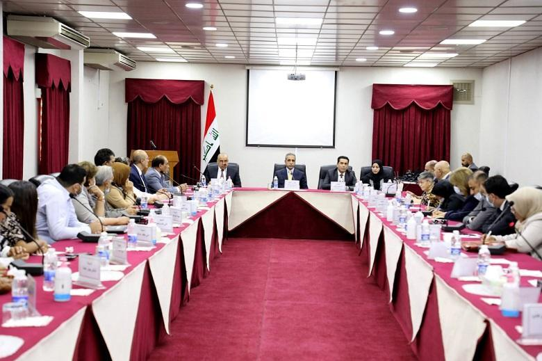 In the presence of President of the Supreme Judicial Council: Judicial Development  Institute organizes a workshop with media professionals , civil society organizations, and unions
