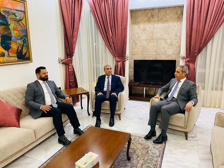President of Supreme Judicial Council Receives Delegation of Sadrist Movement