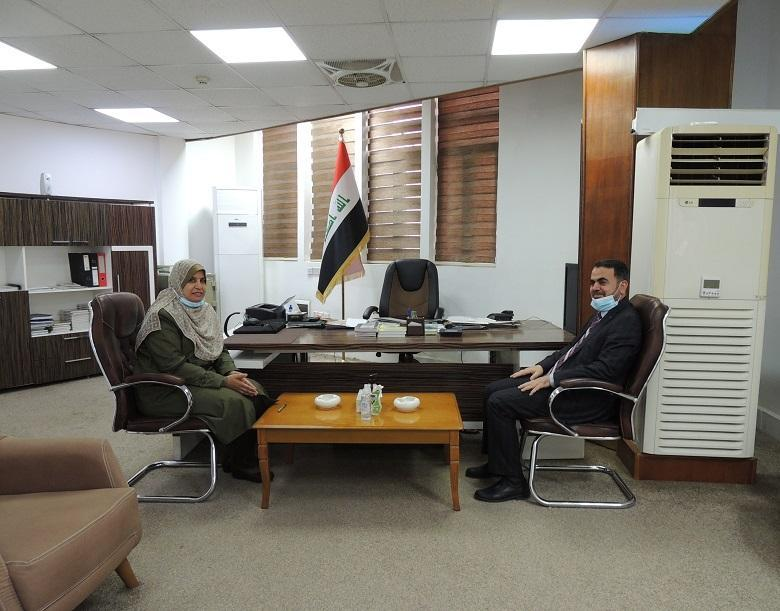 Director General of Iraqi Anti-Corruption Academy at Commission of Integrity visits Judicial Institute