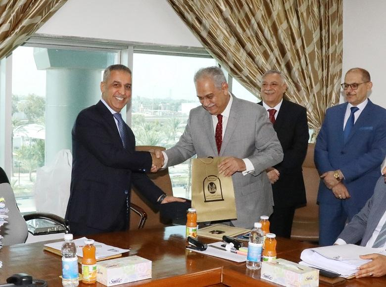 Chief of Court of Cassation Honors Judge Mohammed al-Janabi on his Retirement