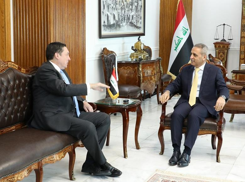 President of Supreme Judicial Council Receives British Ambassador on Occasion of Closing his Tenure