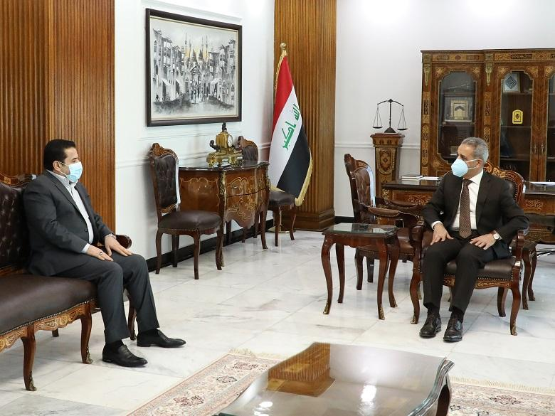 President of Supreme Judicial Council receives Adviser of National Security