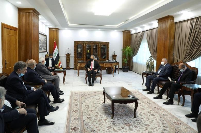 President of Supreme Judicial Council receives Foreign Minister of Islamic Republic of Iran and the Accompanying Delegation