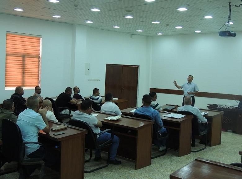 The Judicial Institute opens a legal course for officers of the Ministry of ‎Interior