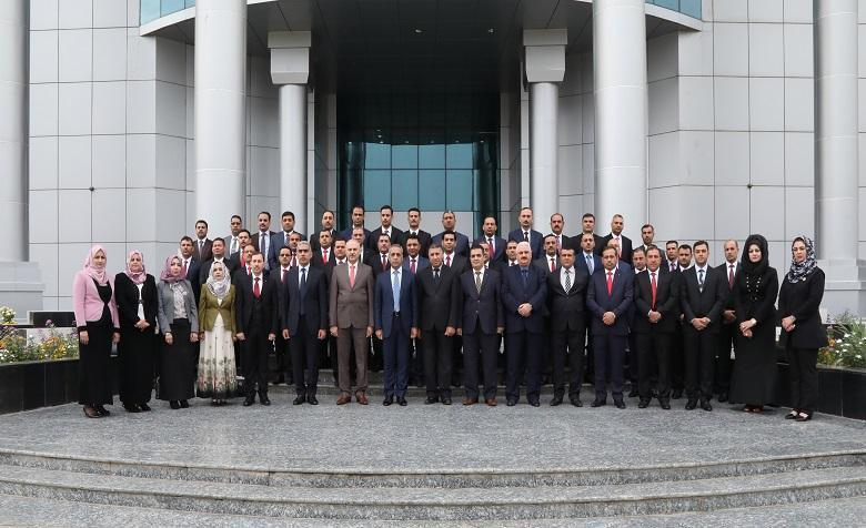 The graduation course 38 of the Judicial Institute