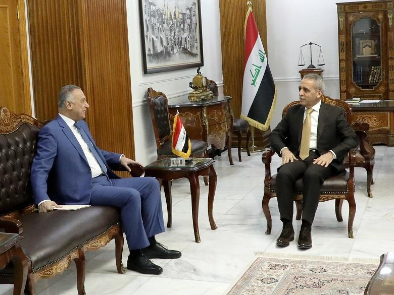 President of Supreme Judicial Council Receives Head of National Intelligence  Service
