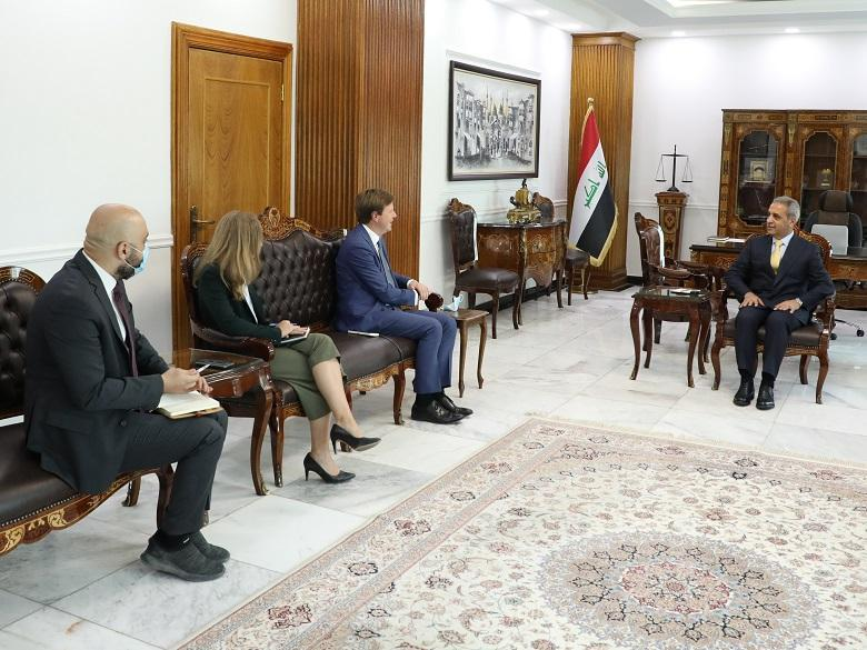 President of Supreme Judicial Council receives British Ambassador to Iraq