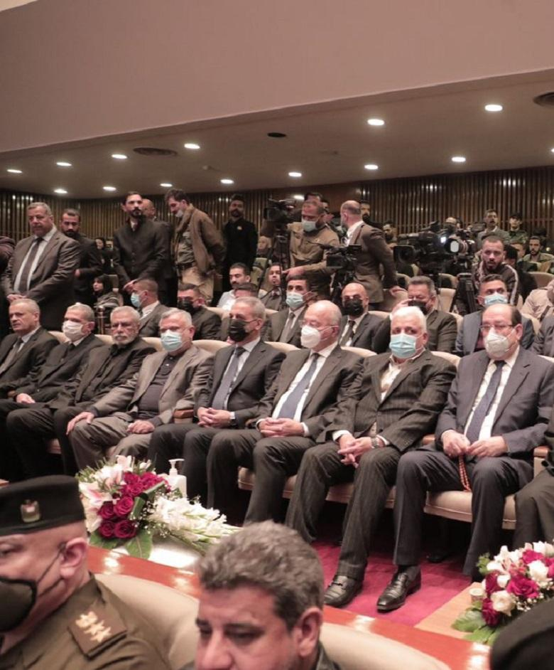President of Supreme Judicial Council attends memorial service for martyrs of leaders of victory