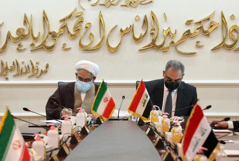 Chief of Public Prosecution signs memorandum of understanding with his Iranian counterpart