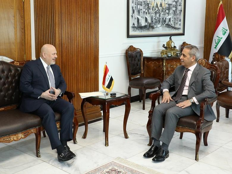 President of the Supreme Judicial Council Receives Special Adviser to UN Secretary General
