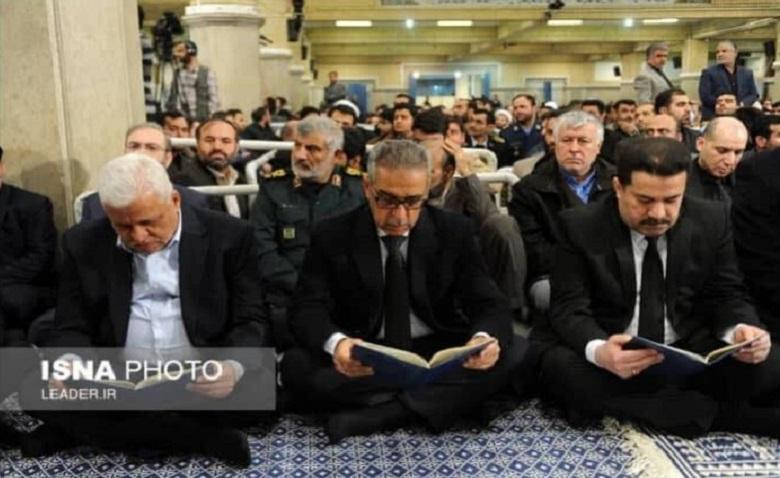 A Delegation of Iraq Headed by Judge Faiq Zidan Participates in Mourning Ceremonies on Late of Grand Ayatollah Mohmoud Shahroudi