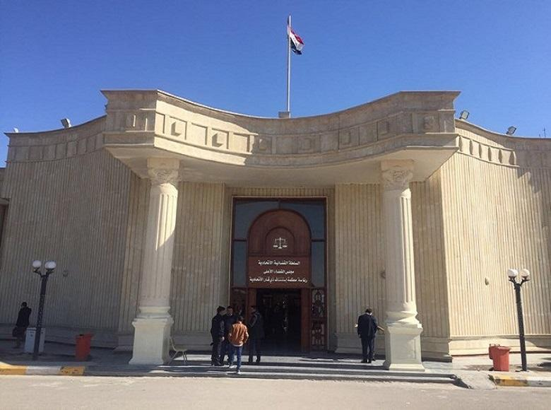 Chief justice of Dhi Qar Federal Appeal Court receives Director of Office of Human Rights in Iraq